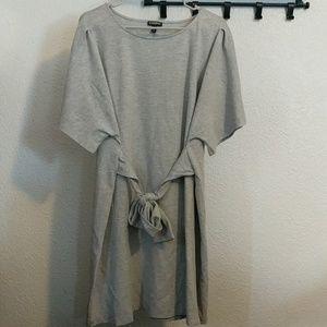 Express t shirt dress